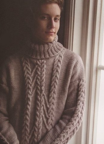 Malabrigo Lascano Kit - Mens Sweaters