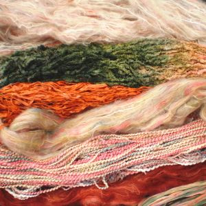Colinette Absolutely Fabulous Throw Kit - zOrange Spice (#35)