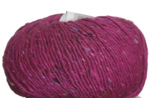 Debbie Bliss Luxury Tweed Aran Yarn - 21 Fuchsia