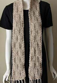 Crystal Palace Sequoia Elongated Brick Scarf Kit - Scarf and Shawls