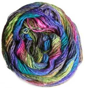 Noro Silk Garden Sock Yarn - 301 Royal/Purple/Fuchsia