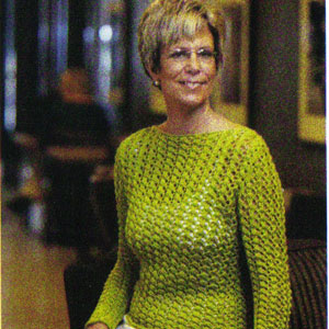 Muench String of Pearls Lace Boatneck Pullover Kit - Women's Pullovers