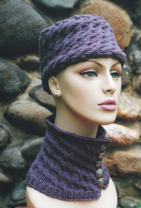 Oat Couture Patterns - Baikal Hat and Neckwarmer Pattern