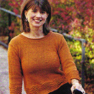 Cascade Venezia Worsted Spice Lace Sweater Kit - Women's Pullovers