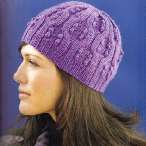Cascade 220 Sport Bobbles and Cables Cap Kit - Scarf and Shawls