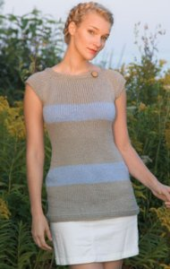 Classic Elite Sprout Striped Tunic Kit - Women's Sleeveless