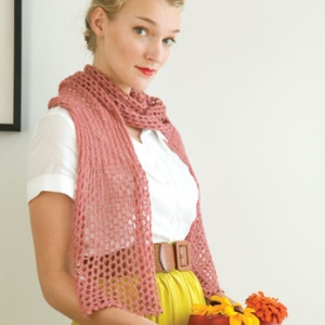 Classic Elite Silky Alpaca Lace Scarf Kit - Scarf and Shawls