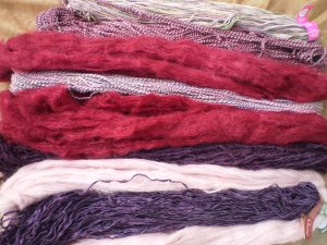 Colinette Absolutely Fabulous Throw Kit - zCabernet (#67)