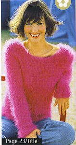 GGH Amelie Pink Sweater Kit - Women's Pullovers