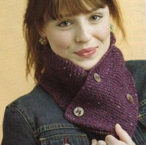 Berroco Blackstone Tweed Scarflet Kit - Scarf and Shawls