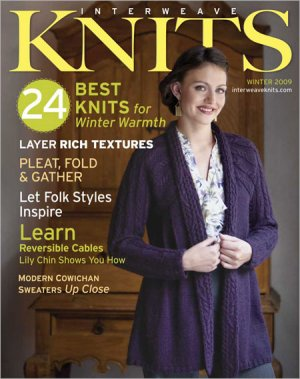 Interweave Knits Magazine - '09 Winter