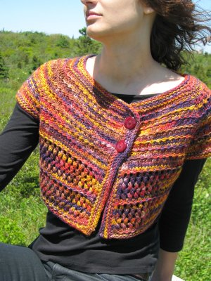 Ilga Leja Handknit Designs Patterns - Berry Hill Pattern