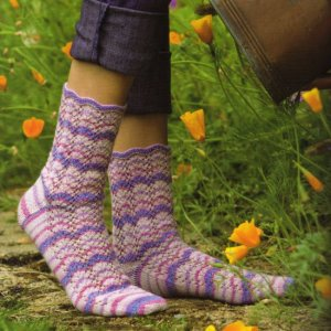 Lana Grossa Meilenweit Cotton Max Rainbow Over Lahaina Kit - Socks