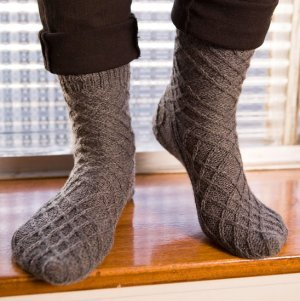 Berroco Comfort Sock Criss Cross Socks Kit - Socks