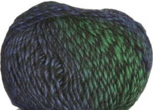 Lana Grossa Furetto Yarn - 015 Blue/Green Mix
