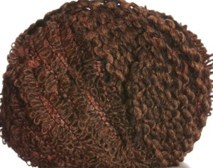Lana Grossa Tris Yarn - 001 Brown/Terracotta