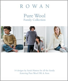 Rowan Pattern Books - Pure Wool Family Collection (Discontinued)