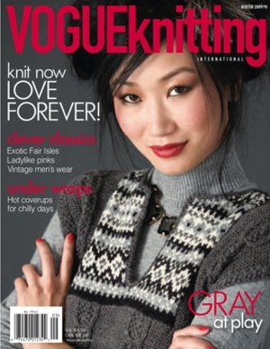 Vogue Knitting International Magazine - '09/10 Winter