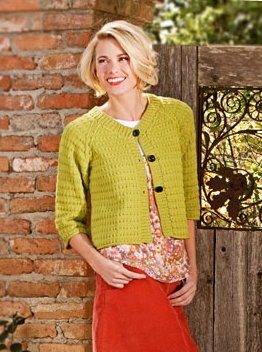 Spud & Chloe Patterns - Tea Party Cardigan Pattern