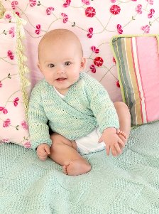 Blue Sky Fibers Adult Clothing Patterns - zCotton Baby Set Pattern