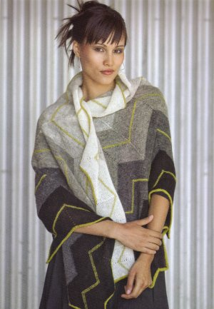 Isager Wool 1 Volt  Kit - Scarf and Shawls