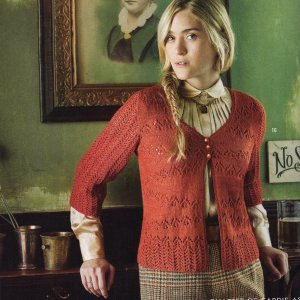 Lorna's Laces Shepherd Sock Lace Cardigan Kit - Women's Cardigans