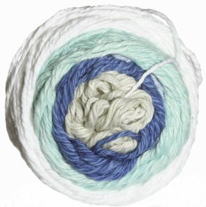 Be Sweet Bambino Taffy Yarn - 881 Salt Water Taffy