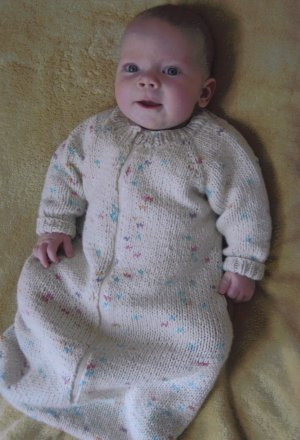 Knitting Pure and Simple Baby & Children Patterns - 0103 - Baby Sleeping Bag Pattern