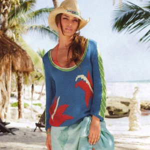 Tahki Cotton Classic Maui Kit - Women's Pullovers