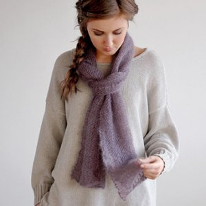 Rowan Kidsilk Haze Adore Kit - Scarf and Shawls