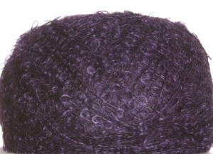 Be Sweet Extra Fine Mohair Yarn - Dark Blue Plum