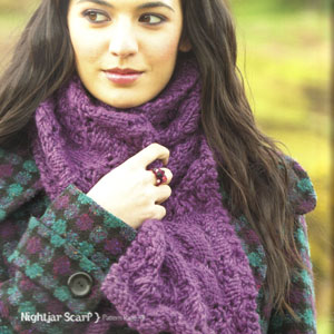 Mirasol Sulka Nightjar Scarf Kit - Scarf and Shawls