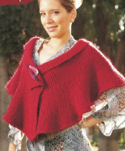Misti Alpaca Chunky Solids or Best of Nature Chunky BC Ruffle Wrap Kit - Scarf and Shawls