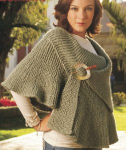 Misti Alpaca Tonos or Best of Nature Chunky BC Ruffle Cape Kit - Scarf and Shawls
