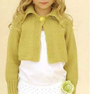 Sublime Cashmere Merino Silk DK Esme Kit - Baby and Kids Cardigans