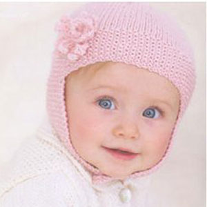 Sublime Baby Cashmere Merino Silk DK Retro Bonnet Kit - Baby and Kids Accessories