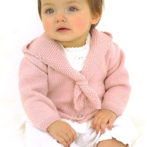 Sublime Baby Cashmere Merino Silk DK Little Pixie Coat Kit - Baby and Kids Cardigans