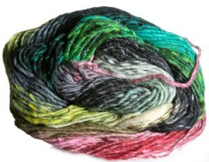 Noro Taiyo Yarn - 13 Black/Green/Pink (Discontinued)