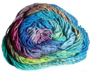 Noro Taiyo Yarn - 14 Blues/Hot Pink/Purple (Discontinued)