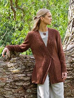 Elsebeth Lavold Silky Wool Borghild Kit - Women's Cardigans