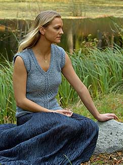 Elsebeth Lavold Silky Wool Ylva Kit - Women's Sleeveless