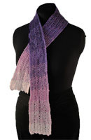 Cascade Alpaca Lace Shaded Feather Scarf Kit - Scarf and Shawls