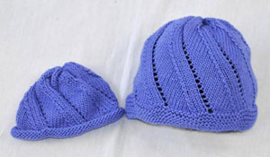 Cascade Venezia Worsted Spiral Hat and Scarf Set Kit - Hats and Gloves