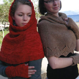 Malabrigo Worsted Merino Scarf-Hood and Wrist Warmers Kit - Women's Accessories