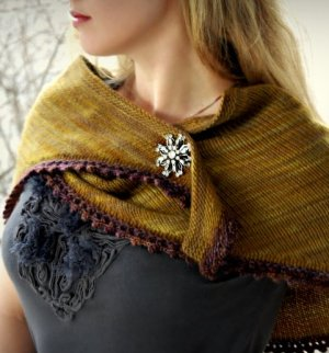 Never Not Knitting Patterns - Cosette Wrap Pattern