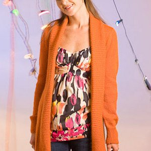 Classic Elite Fresco Carrot Cardigan Kit - Women's Cardigans