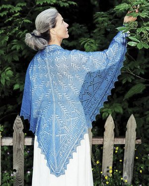 Fiber Trends Pattern Patterns - Peace Shawl Pattern