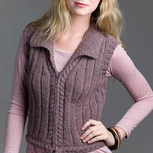 Rowan Felted Tweed Aran Brit Lit Vest Kit - Vests