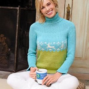 Spud & Chloe Sweater Buck Hill Pullover Kit - Women's Pullovers
