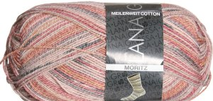 Lana Grossa Meilenweit Cotton Max Yarn - Moritz 7705